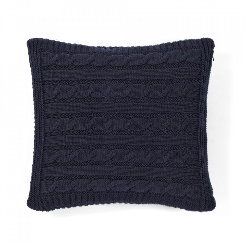 Декоративная подушка MESSINA CASUAL AVENUE - темно-синий, 40x40